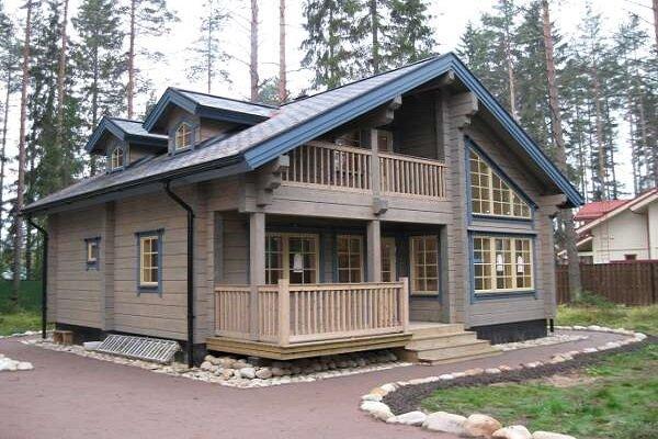 Дома из бруса в Липецке
